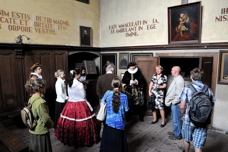 Loretánské slavnosti v Loretě Rumburk nabízejí komentované prohlídky běžně nepřístupných prostor (Jiří Laštůvka).