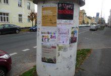 LFL na plakátech, foto M. Hrabal