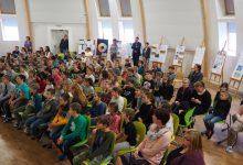 Publikum v aule ZŠ, foto K. Polínková