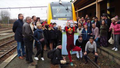 Happy společně s klaunem Kateřinou, foto P. Kubínský
