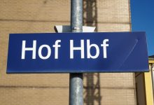 Jak se to rýmuje - Hof Hauptbahnhof, foto K. Polínková