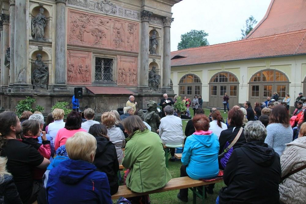 Loretánská muzejní noc v Loretě Rumburk (foto Klára Mágrová)