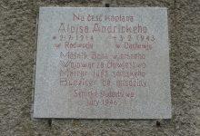 Paměstní deska blahoslaveného Alojse Andrického