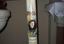 Slavnostní svíce Alojse Andrického