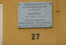 Pamětní deska Jurije Winara
