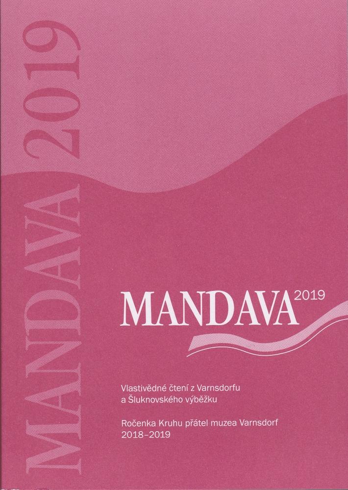 Obálka sborníku Mandava 2019