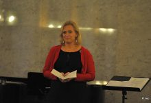 Umělecká vedoucí souboru Kvíltet Varnsdorf Veronika Matysová