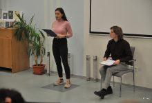 Slovo. Zleva: Gabriela Hrabalová a Martin Šuma
