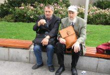 Zeno Kaprál (vpravo) s Antonínem Bajajou, foto: Milan Hrabal